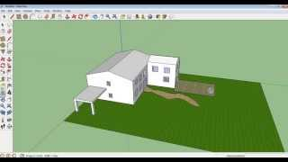 Google Sketchup Tutorial 10 Making A Garden, Paths And