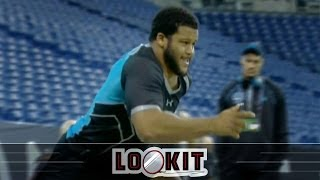Aaron Donald Runs A Filthy 4.6, Highlights Crazy Day For