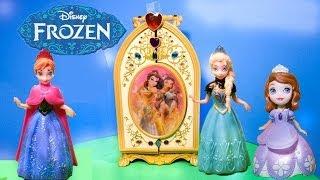 FROZEN Disney Elsa And Princess Anna And The Magic