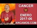 Video Horóscopo Semanal CÁNCER  del 5 al 11 Febrero 2017 (Semana 2017-06) (Lectura del Tarot)