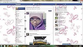 Cara tukar background facebook