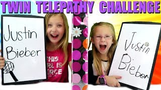 TWIN TELEPATHY CHALLENGE!!!