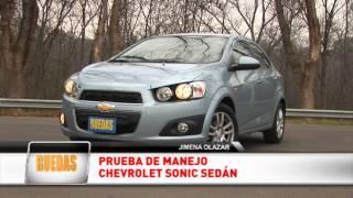 Test Chevrolet Sonic LTZ