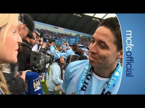 NASRI MAN OF THE MATCH City v West Ham Champions 2014