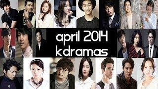 Top 7 New 2014 Korean Dramas [ April ] GIVEAWAY! Top 5