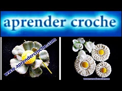 CROCHE - FLOR 018 FUXICO