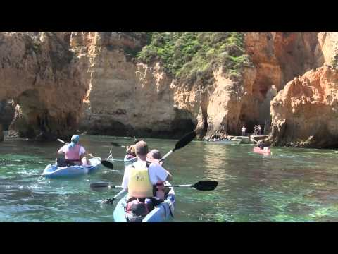 Outdoor- Tours    Ocean kayak trip  Lagos Algarve