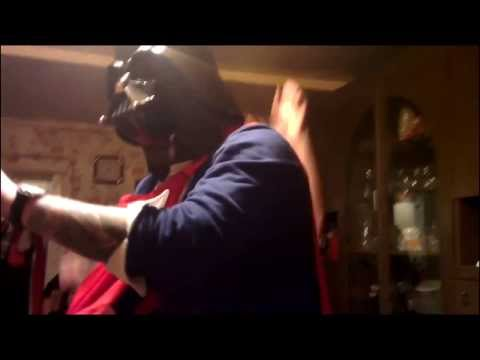 Russian New Year Party - Darth Vader and Horse edition (rough cut)