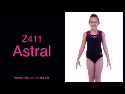 Astral Sleeveless Gymnastics Leotard