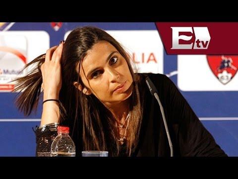 Presentan a Helena Costa, primera mujer en dirigir fútbol en Francia / Rigoberto Plascencia