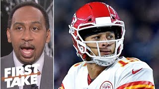 Chiefs, not Patriots, will represent AFC in Super Bowl - Stephen A. | First Take