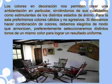 Salas modernas para casas campestres decoraci n de - Youtube decoracion de casas ...