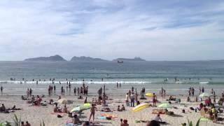 Amarizaje en la playa