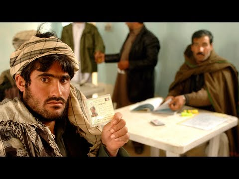 Afghanistan prepares for historic election