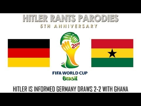 Hitler is informed Germany draws 2-2 with Ghana