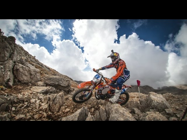 Hard enduro through the elements - Red Bull Sea to Sky 2013