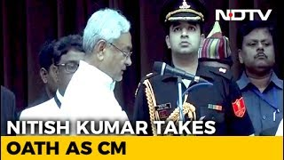 Nitish Kumar Takes Oath As Chief Minister, BJP Joins Gover..
