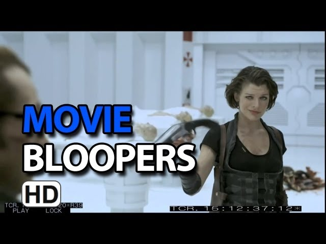 Resident Evil: Afterlife (2010) Bloopers Outtakes Gag Reel