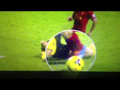 Suarez did not dive!!!