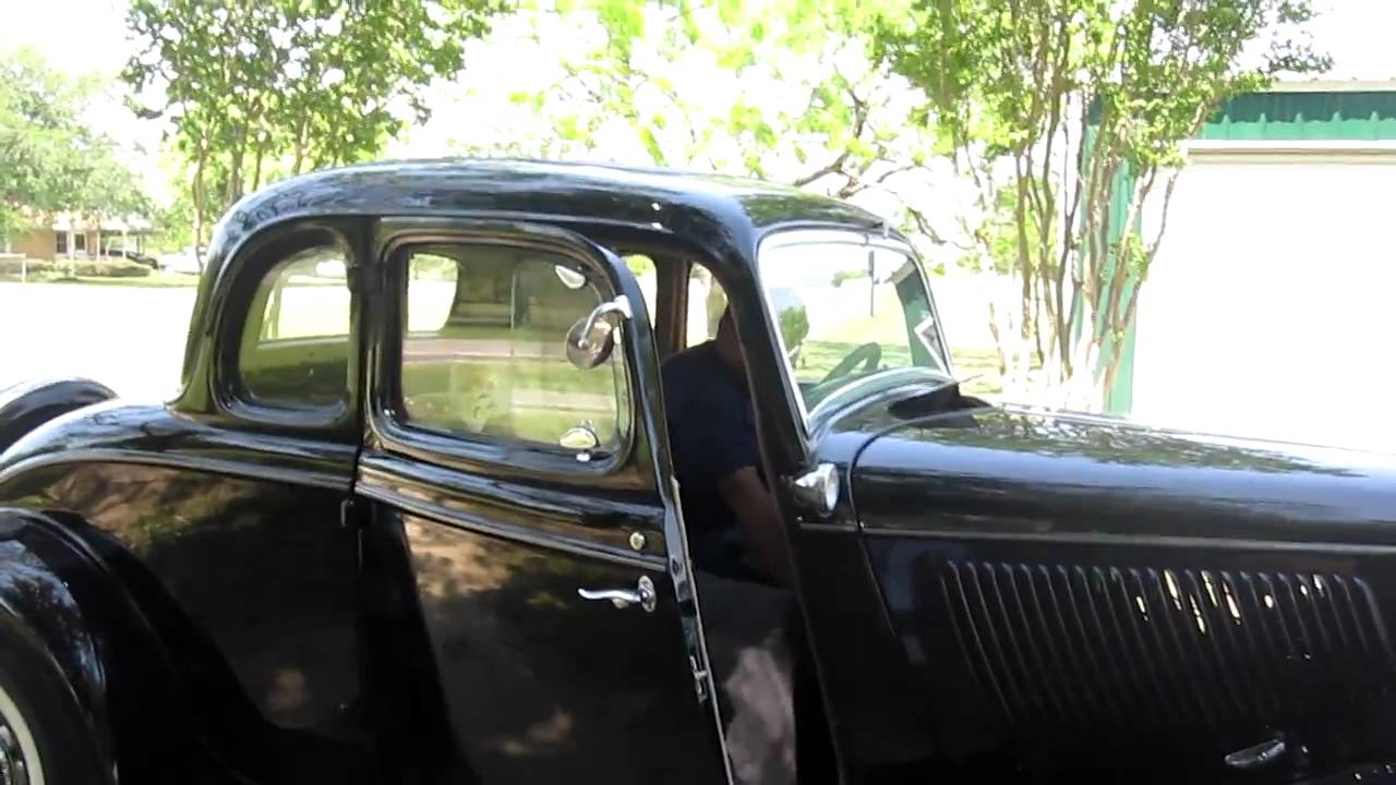 1933 ford deluxe 5 window coupe equipped with general for 1933 ford 5 window coupe