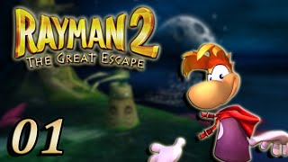 Rayman 2 : The Great Escape : L'Évasion 01 Let's Play