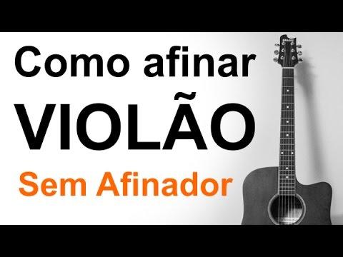 Aula de Violão: Como afinar violão sem afinador