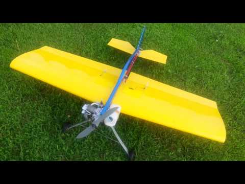 Out flying the Fun Fly,Thunder Tiger (Fun tiger extra) 40 size with a 91 Saito.