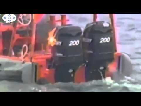 US Navy destroys a boat with laser gun