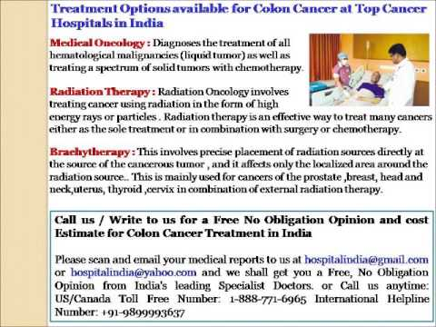 colon cancer treatment in india