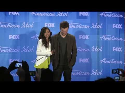 Jessica Sanchez and Phillip Phillips - American Idol 11 - Press Conference