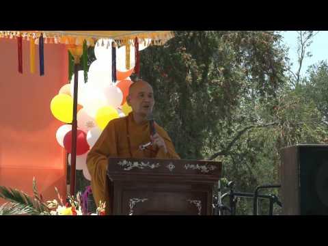 Thuyết Pháp của HT Thích Bảo Lạc,Phó Hội Chủ HĐĐH-GHPGVNTN-HN Aus&New.12-5-2013