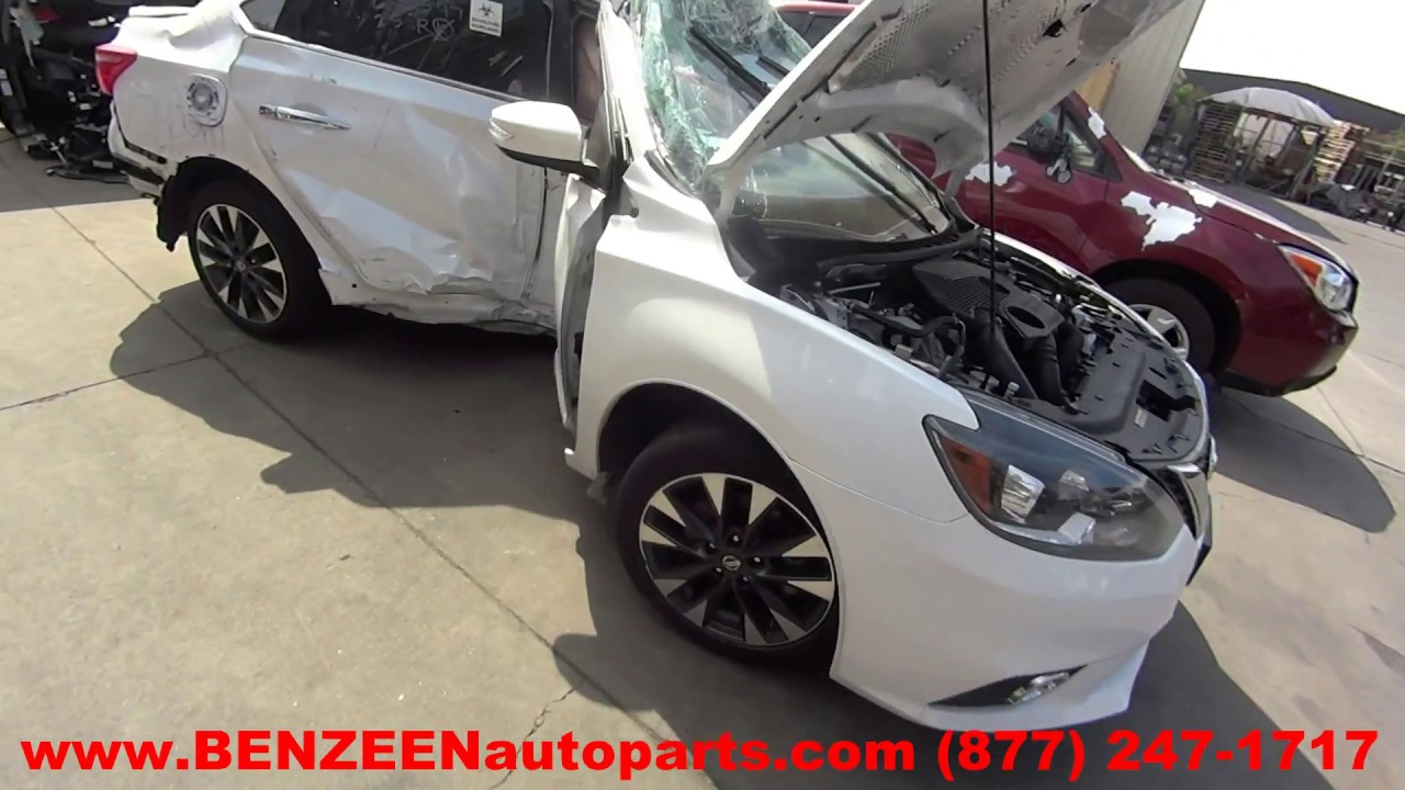 Parting Out 2017 Nissan SENTRA - Stock - 7403GR - TLS Auto Recycling