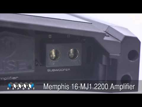 Memphis Car Audio 16-MJ1.2200 Amplifier