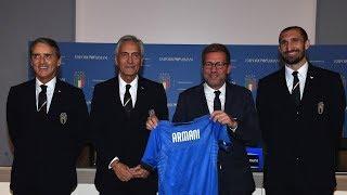 La Nazionale vestirà Giorgio Armani