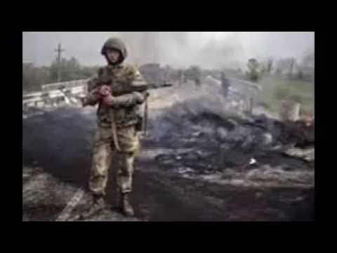 Ukrainian military helicopter shot down, 14 dead, acting president says