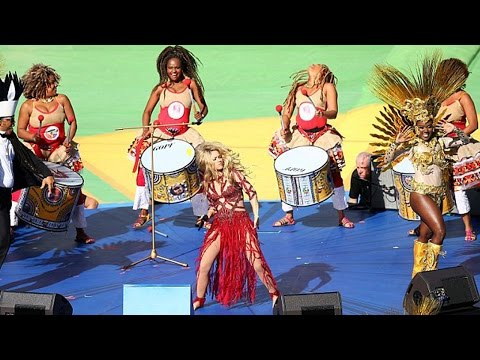 World Cup Closing Ceremony Perfomed By Shakira - La La La