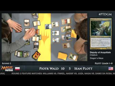 Pro Tour Dragon's Maze - Day 1 Round 2
