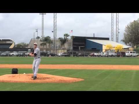 Tigers' Drew Smyly throws live BP