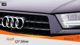 Осмотр Audi Q7 Sline, ПЯТЬ ЛЕТ ЗАВОДСКОЙ ГАРАНТИИ     Автомобили из Германии Денис Рем Дестакар