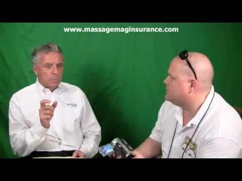 Joe Doyle from www.massagemaginsurance.com - Live Interview