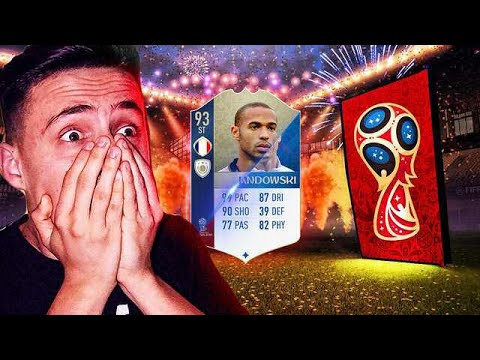 BRUTÁLIS NYITÁSOK!! | FIFA 18 - WORLD CUP PACK OPENING