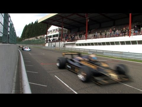 historic Formula One in Spa Francorchamps
