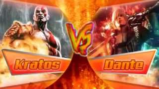 Kratos VS Dante (Rap) Video Original