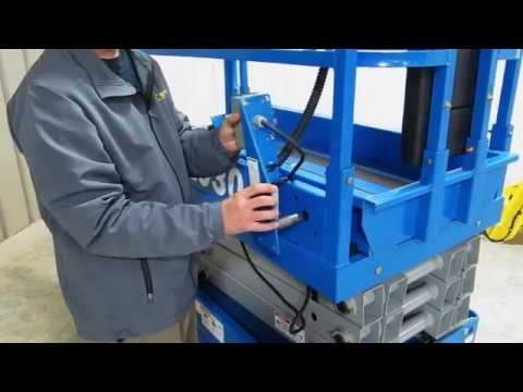 SHU Installation on a Genie GS-1930 Scissor Lift