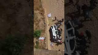 أول فيديو لحادثة السير الخطيرة بطريق أحفير التي أودت بحياة 7 أشخاص       قنوات أخرى