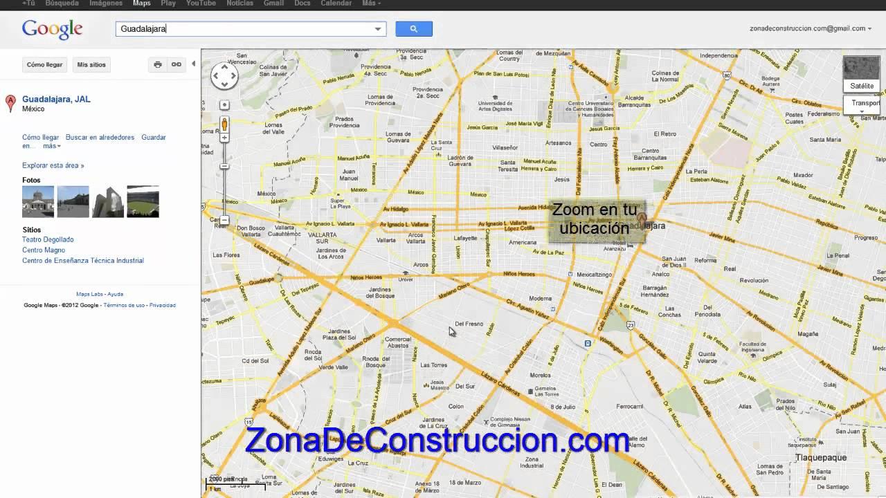 Como crear un croquis de ubicaci n youtube for Como crear un plano de una casa
