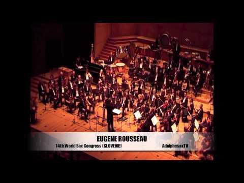 Eugenne Rousseau in World Sax Congress