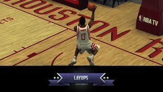 NBA 2K14 Ultimate Layup Tutorial : Eurostep, Hopstep