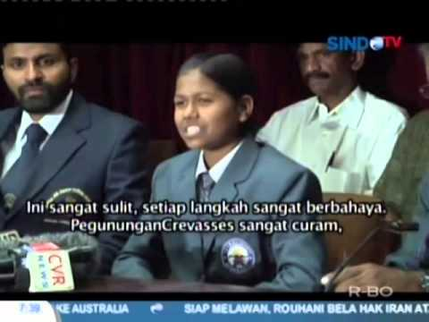 Remaja 13 Tahun Asal India Taklukkan Everest