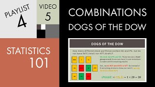 Statistics 101: Combinations - Dogs of the Dow